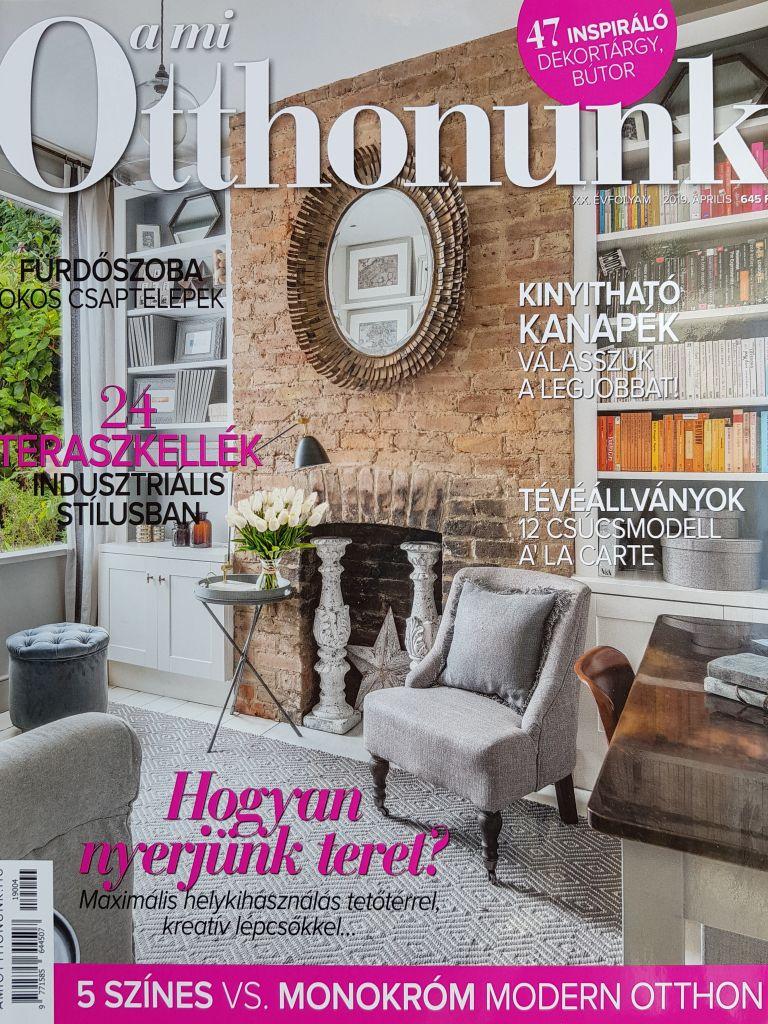 Publikáció A mi otthonunk magazinban - Sziráki Bianka lakberendezővel